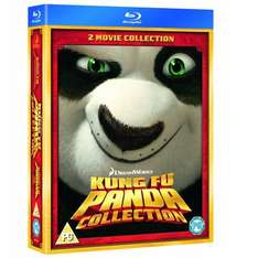 [Blu-Ray] [Shop4de] Kung Fu Panda Collection 1 & 2 Box Set [IMPORT] - 8,98€