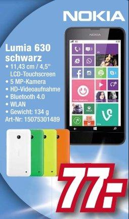 [lokal Bielefeld] Nokia Lumia 630 schwarz für 77,-€ bei expert Total-Fachmarkt