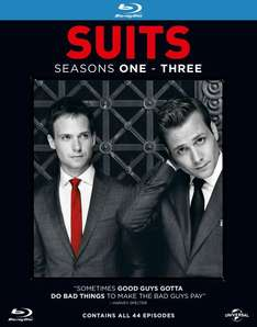 [zavvi] Suits - Season 1-3 Blu-Ray €32.49 inkl. VSK , Idealo: 51,99€
