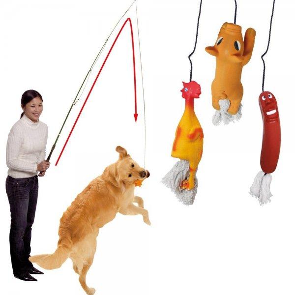 [Amazon]  Nur €12,90 Trainingsangel für Hunde. Super Spielzeug !
