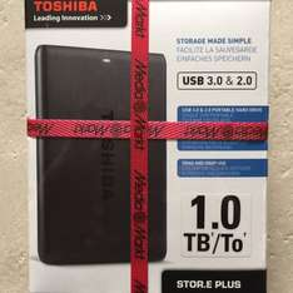 Toshiba STOR.E PLUS 1TB, USB 3.0 & 2.0, ( Lokal Media Markt Braunschweig)
