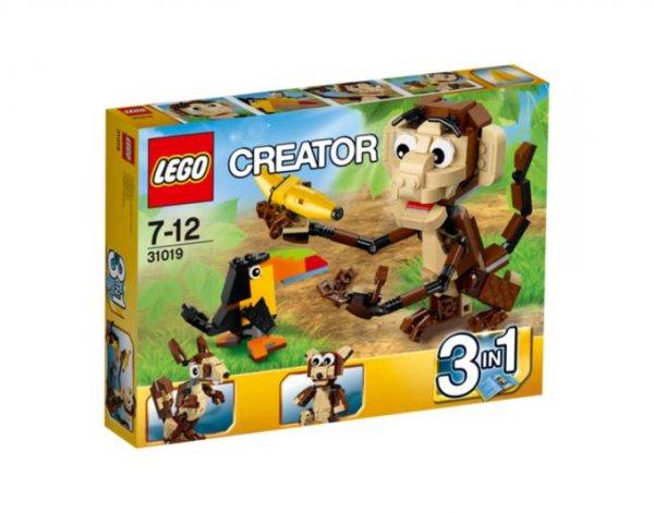 [LOKAL real,- Oldenburg Etzhorn] LEGO 31019 Creator Urwald Tiere 9,00 €