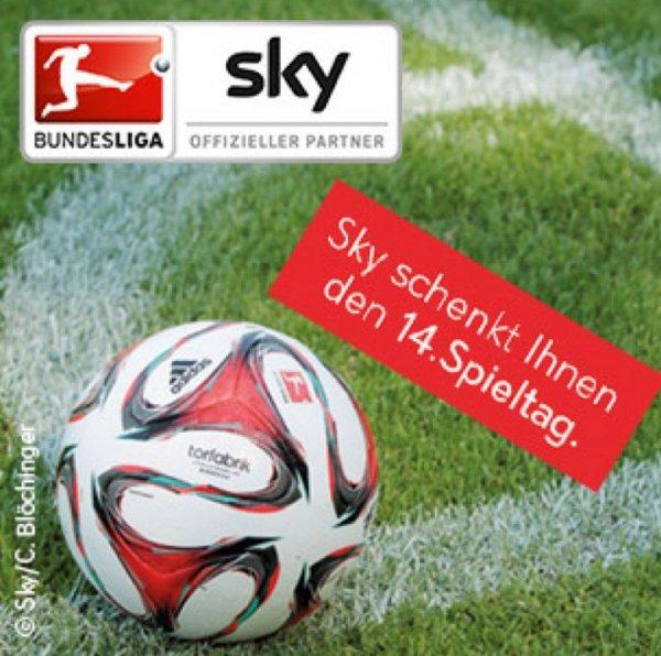 Telekom Entertain - Fußball-Bundesliga (14.Spieltag) kostenlos auf Sky