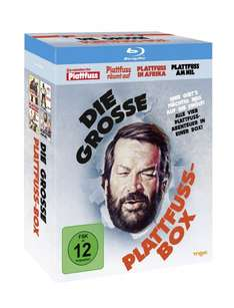 Bud Spencer - Die Plattfuß-Box (Blu-ray) inkl. Vsk für 18,60 € > [Buch.de] & [Thalia.de] > (Bestpreis)