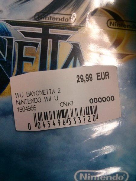 [lokal Köln?]Mediamarkt: Bayonetta 2 Wii U für 29.99€