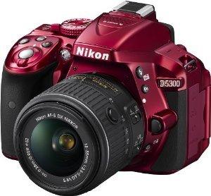 Nikon D5300 Kit 18-55 VR rot - Spiegelreflexkamera