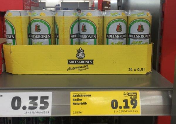 [Lokal?] Penny München: Adelskronen Radler naturtrüb 0,19€ / 0,5l-Dose