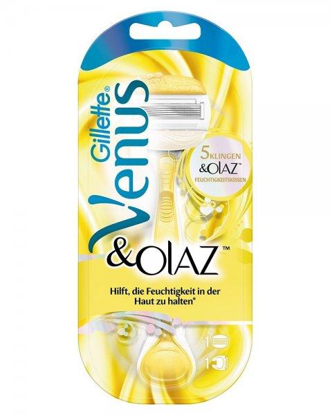 Gillette Venus&Olaz Rasierer für 5€ @ Saturn.de (+1,60% Qipu möglich)