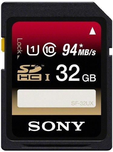 [amazon.com] Sony32GB SDHC UHS-1 Class (SF32UX) - 20,16€ inkl. VSK