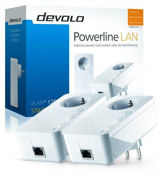 Devolo dLAN 1200+ Starterkit für 111€ inkl. VSK @Comtech