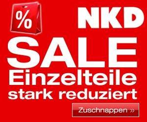 [NKD] Pack die Tüte voll! 13.-15.11. bis zu 30% Rabatt