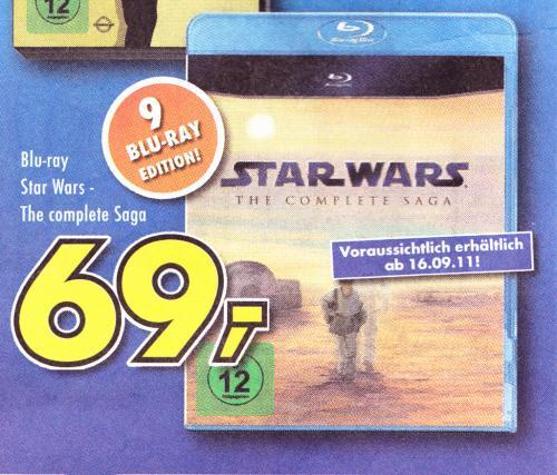 LOKAL ?  Star Wars - The Complete Saga Blu-ray Euronics XXL