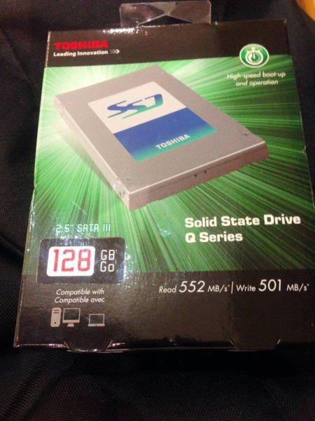 (LOKAL LEIPZIG) PFEILSCHNELLE TOSHIBA 128GB SSD FÜR NUR 46€