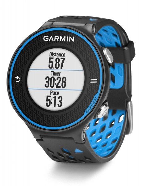 Garmin Laufuhr Forerunner 620 HRM Inkl. Premium HF-Brustgurt Run, Schwarz/Blau für 290,83 € @Amazon.es