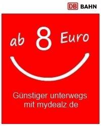 2 Personen Quer durch Deutschland dank MitfahrerTicket & Nutella ab 16,75€.