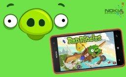 Windows Phone Spiel Bad Piggies gratis