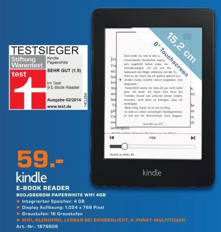 [Lokal] Saturn Köln - Kindle Paperwhite für 59 €