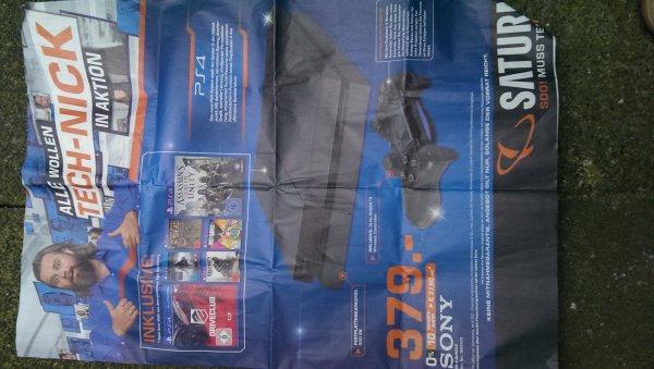 Playstation 4 mit einem Spiel 379€ LOKAL Leverkusen