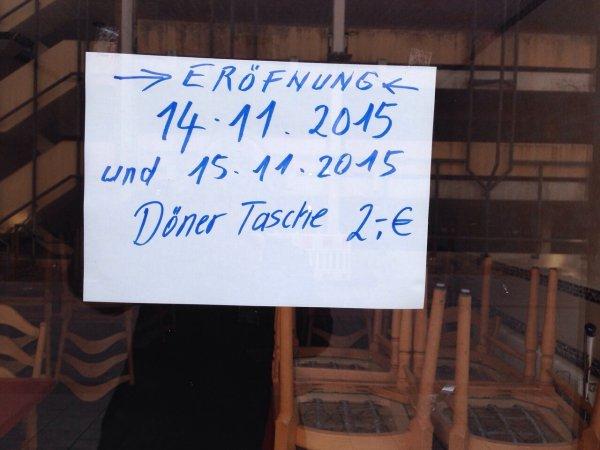 Dönertasche 2€ in Lehrte/Hannover