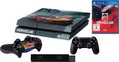 PlayStation 4 (PS4) 500 GB + Driveclub + 2 Controller Konsolen-Set + Design Folie