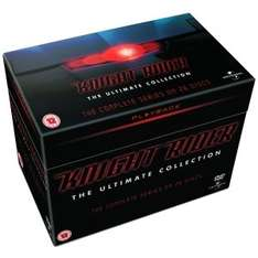 Knight Rider - The Complete Collection DVD (OT) für 25,99€ @Zavvi.com