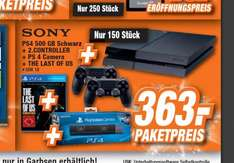 [Lokal Garbsen Expert] Playstation 4 500GB schwarz + 2. Controller + Kamera + The Last of Us