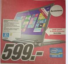 (Lokal Media Markt Zwickau) Lenovo Flex 2-15 Multi-Touch FHD Notebook