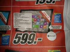 Surface Pro 3 64GB (Lokal MM Offenburg)