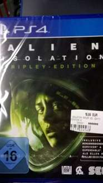(Lokal Hamburg) Alien Isolation - Ripley Edition - PS4 und Xbox One