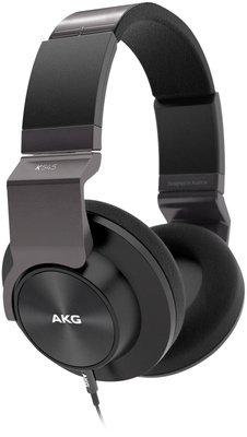 AKG K545 schwarzer Over-Ear mit iOS und Android-Kabel bei thomann für 159€ (neu) / 149€ (B)