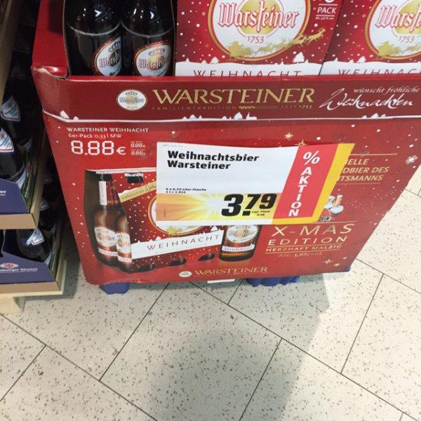 [rewe] Warsteiner Weihnachtsbier 3,79€ - 2€ scondoo