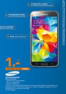 Saturn Bad Homburg  Samsung Galaxy S5 für 333€