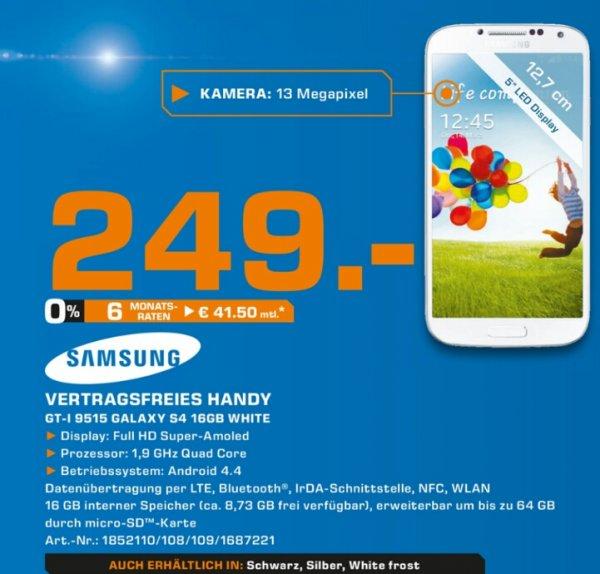 [Lokal] Samsung Galaxy S4 im Saturn Köln-Hohe Strasse, nur am 15.11.2014 für 249 €