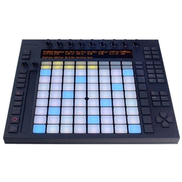Ableton Push Controller für Musikproduktion mit Live