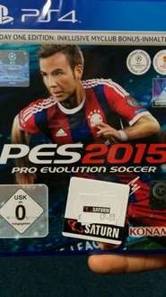 [lokal Saturn Köln] PES2015 PS4/XBOX One