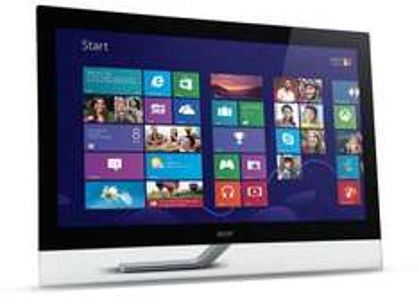 [@Amazon Blitzdeal] Acer T232HLAbmjjz TOUCHSCREEN 58 cm (23 Zoll) Monitor (VGA, HDMI mit MHL, USB, 5ms Reaktionszeit) für 249,99€