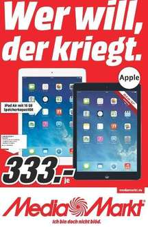 [Lokal - Media-Markt Weiterstadt] Apple iPad Air 16 Gb WiFi