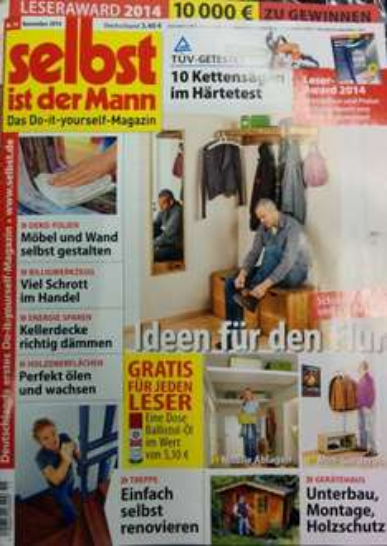 """[LOKAL]Ballistol Öl Spray gratis beim Kauf von """"selbst ist der Mann""""-Zeitschrift"""