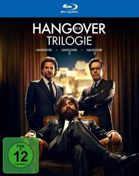 [amazon.de PRIME] Hangover Trilogie [Blu-ray] für 15€