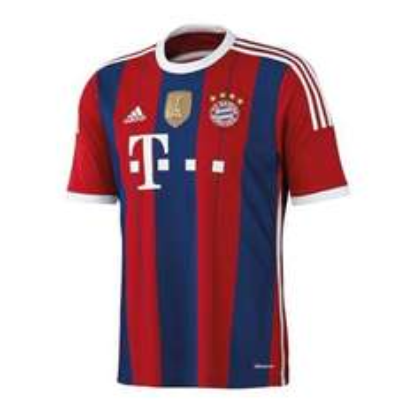 FC Bayern Trikot Home WC 2014/2015 für 56,04 € inkl. Versand bei 11teamsports