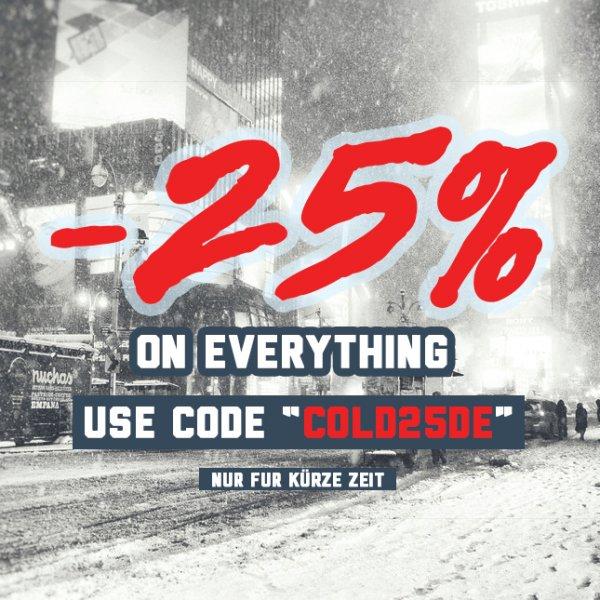 Karmaloop.de -25% Sale, Auf Alles !