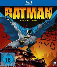 [Amazon] DC Universe Batman Blu-ray Collection Limited Edition 9 Filme + Specials für 49,97€!