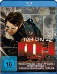 [amazon.de PRIME] Mission: Impossible - M:I 4-Movie Set [Blu-ray] für 24,97€