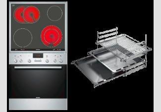 Siemens Einbauherdset EQ271 Ek 01 T 499.-  Saturn Online mit Backwagen /Teleskopauszug 30 %