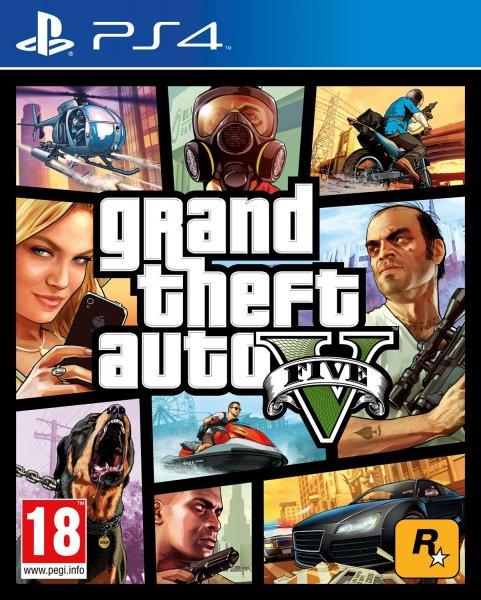 Grand Theft Auto V / GTA V / 5 / PS4 für 51,21 @amazon.fr