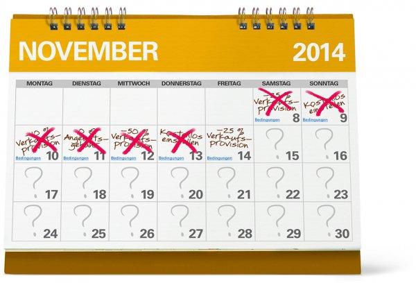 eBay Aktion - der Monat der Verkäufer - Vorschau bis 17.11.