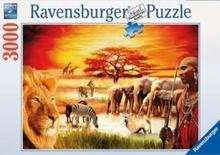 derclub:   Ravensburger Puzzle 17056 - Stolzer Massai (3.000 Teile)