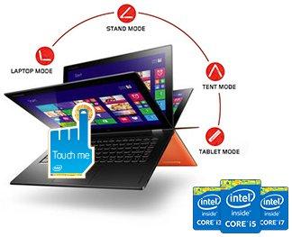 Lenovo Ideapad Yoga2 Ultrabook 59424690 i5-4210 8GB 128GB refurbished für 799 EUR EBAY