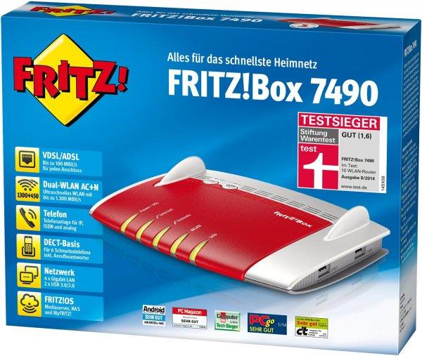 [lokal] [Media Markt Rostock-Brinckmannsdorf] FRITZ!Box 7490 fur 179,10 Euro