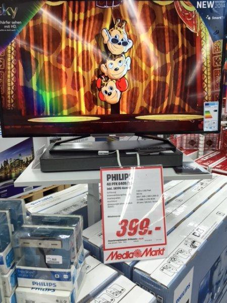 Philips 40 PFK 6409 inkl. Skype-Kamera [LOKAL Media Markt Stuttgart Milaneo]